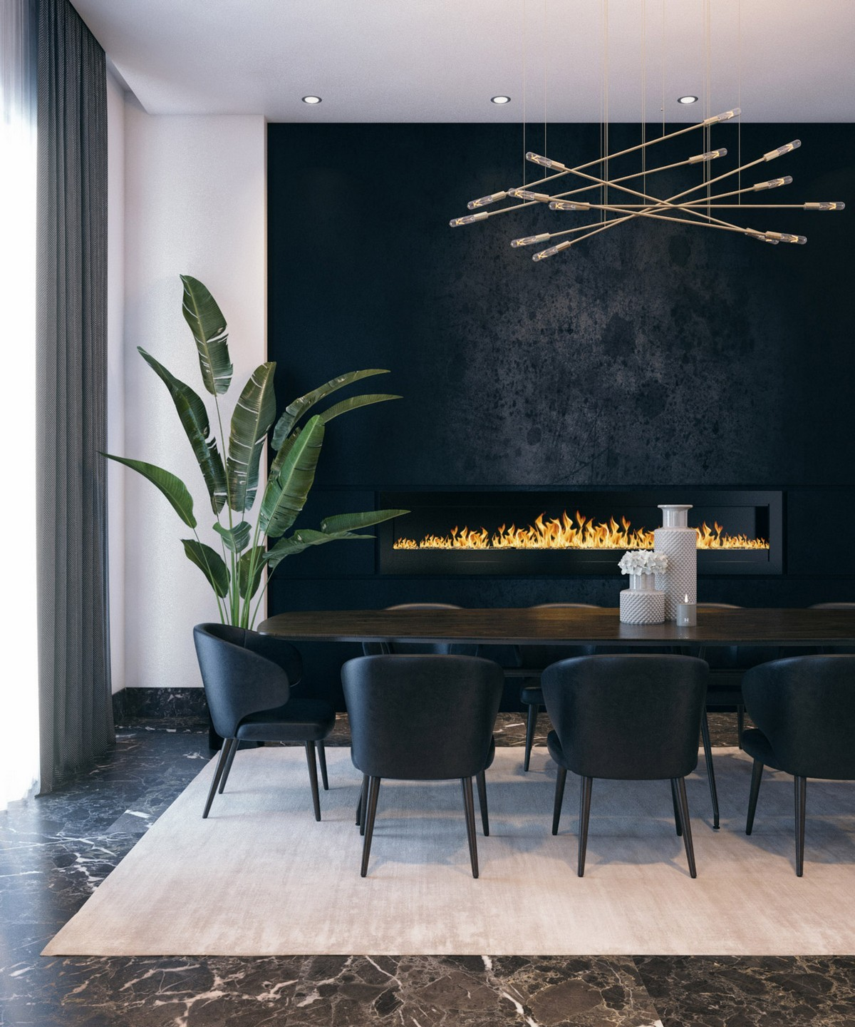 Modern Dining Room Inspirations To Look For in 2019 modern dining room Modern Dining Room Inspirations To Look For in 2019 1