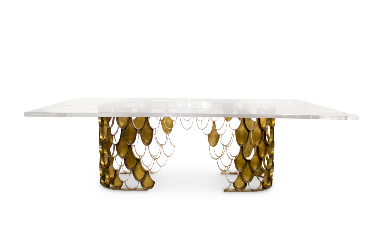 Exclusive Design: Top Rectangular Dining Tables [object object] Exquisite Dining Tables To Level Up Your Home Decor koi2