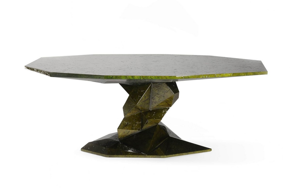 Covet House: Modern Tables at Salone del Mobile Milano [object object] Exquisite Dining Tables To Level Up Your Home Decor bonsai