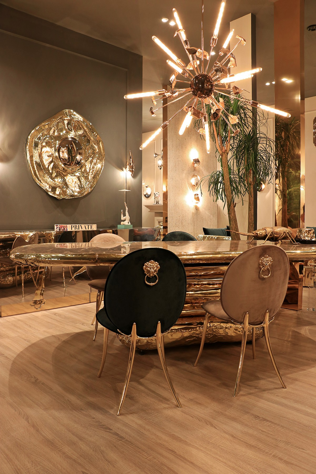 salone del mobile milano Covet House: Top Dining Chairs at Salone del Mobile Milano soleil2