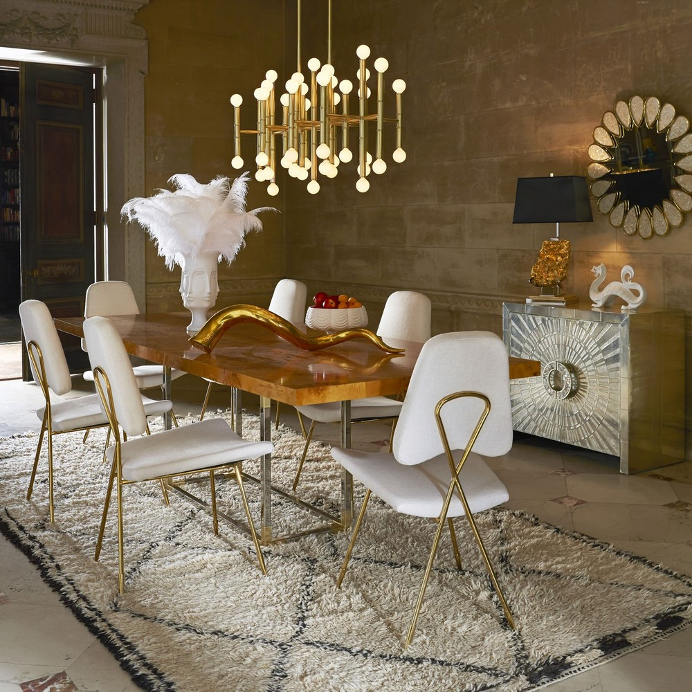 top interior designers Shop The Look: Dining Room Ideas By Top Interior Designers jonathan adler Candelabra