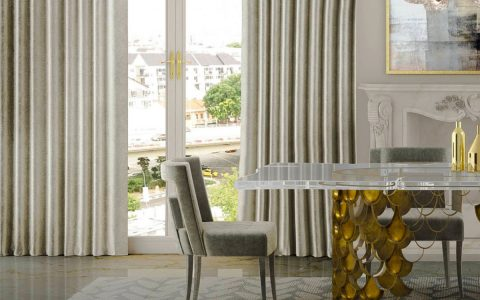 Hollywood Regency: Top Dining Tables For Statement Dining Rooms hollywood regency Hollywood Regency: Top Dining Tables For Statement Dining Rooms featurd 480x300