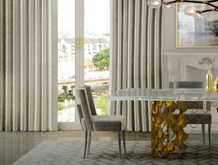 Hollywood Regency: Top Dining Tables For Statement Dining Rooms hollywood regency Hollywood Regency: Top Dining Tables For Statement Dining Rooms featurd 740x560