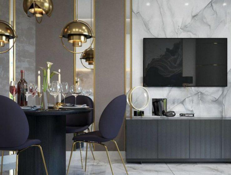 Marvelous Dining Room Designs by Elena Ponomarenko and Vitta Group