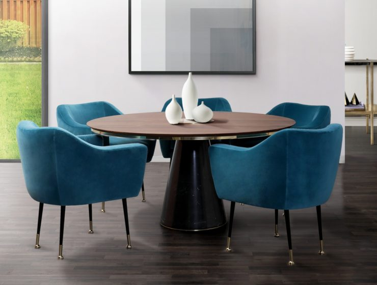 dining room ideas Pantone's Classic Blue: 5 Trendy Dining Room Ideas featured 2020 01 02T112023