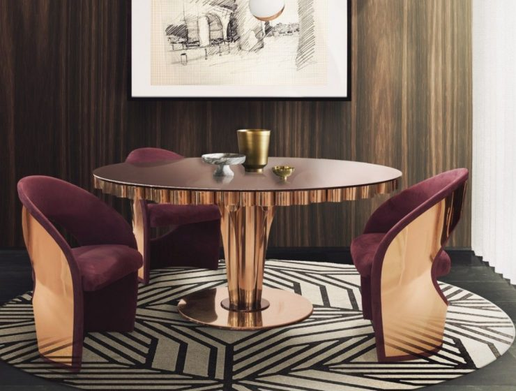 Between Classic and Modern: Mid-century Dining Tables You Will Love mid-century dining tables Between Classic and Modern: Mid-century Dining Tables You Will Love ftred 740x560