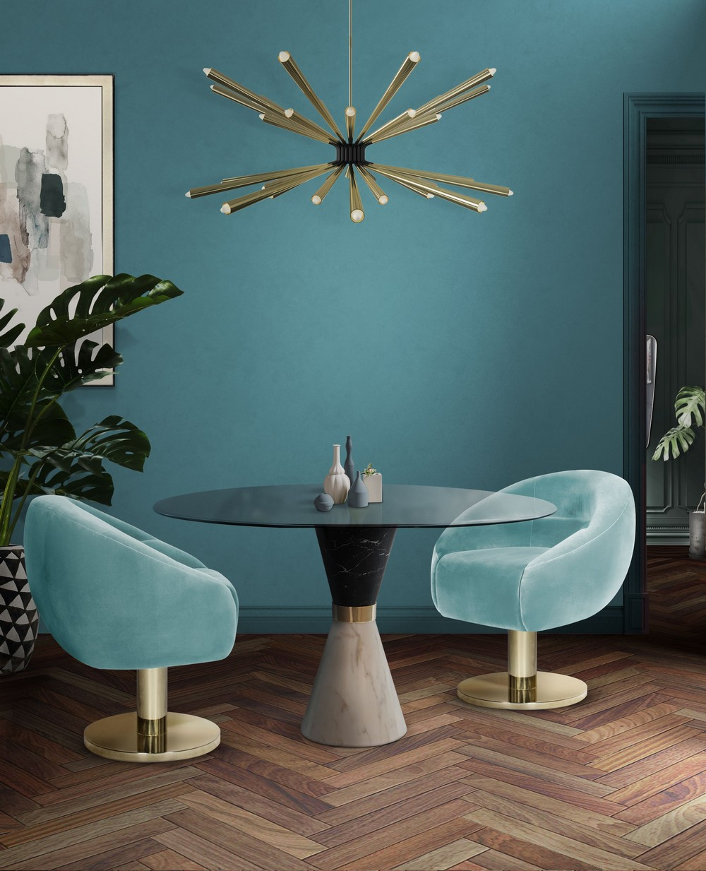 5 Beautiful Dining Chairs To Give A Splash of Color In Your Dining Room dining chairs Beautiful Dining Chairs To Give A Splash of Color In Your Dining Room JSM G  w