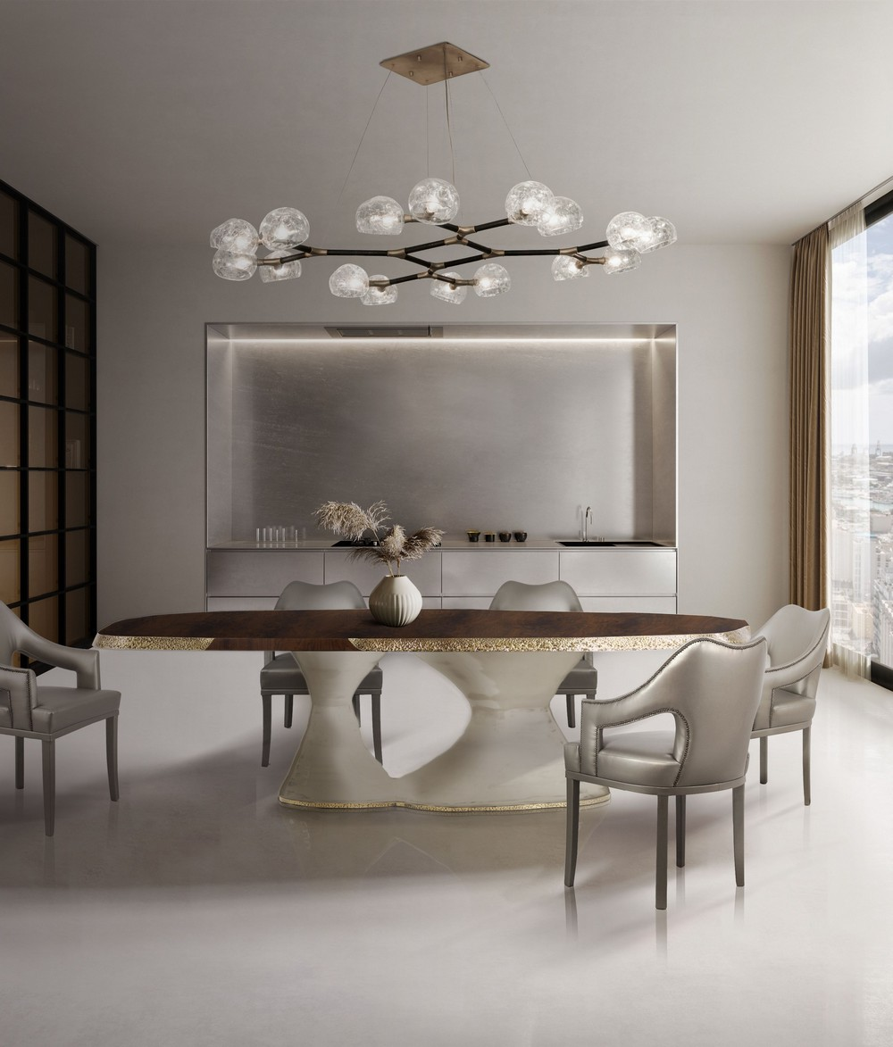 How To Apply Contemporary Neutrals In Your Dining Room