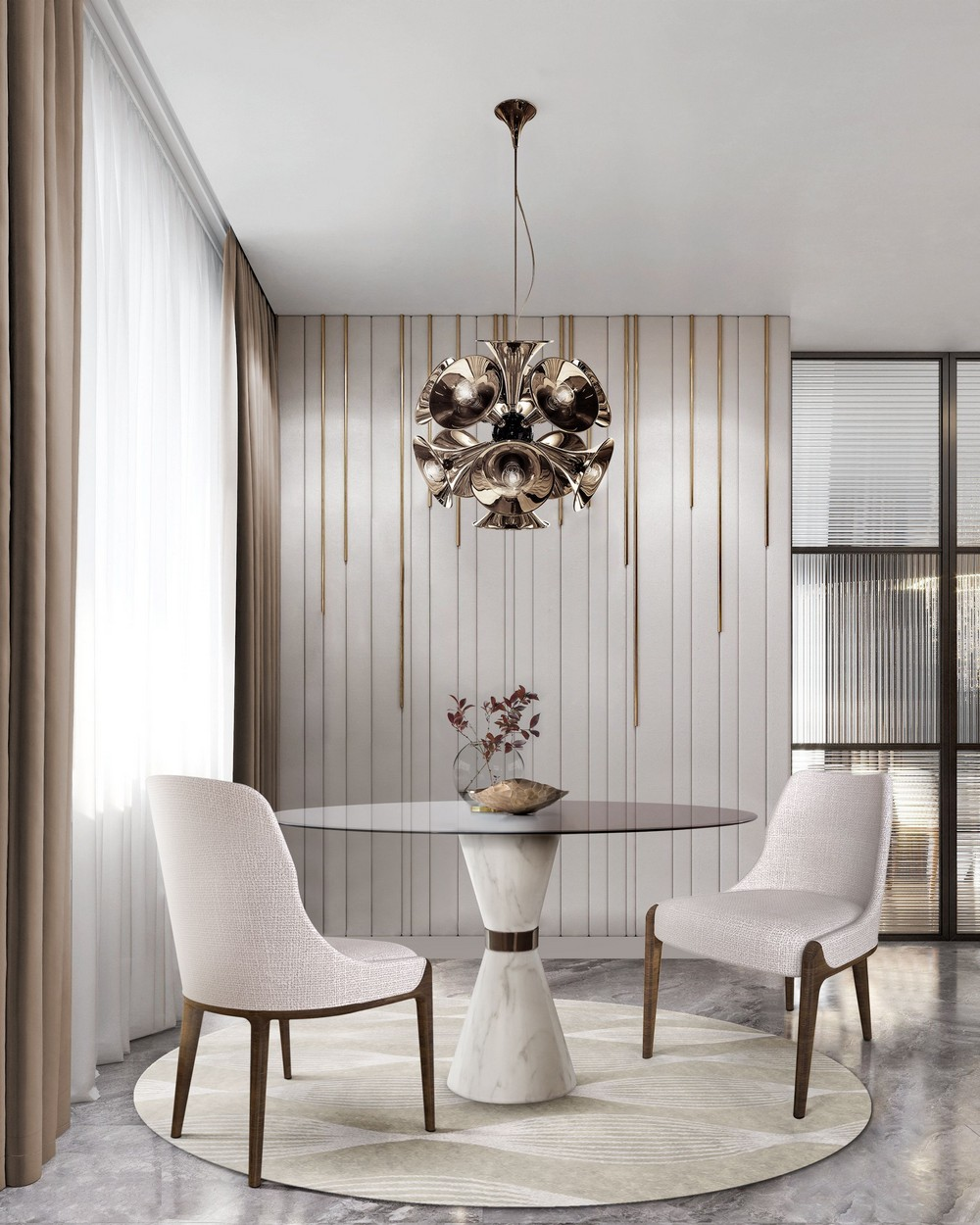 How To Use Contemporary Neutrals In Your Dining Room dining room How To Use Contemporary Neutrals In Your Dining Room bvaxMozA