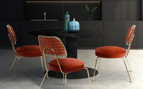 5 Beautiful Dining Chairs To Give A Splash of Color In Your Dining Room dining chairs Beautiful Dining Chairs To Give A Splash of Color In Your Dining Room featured 2020 04 21T143620