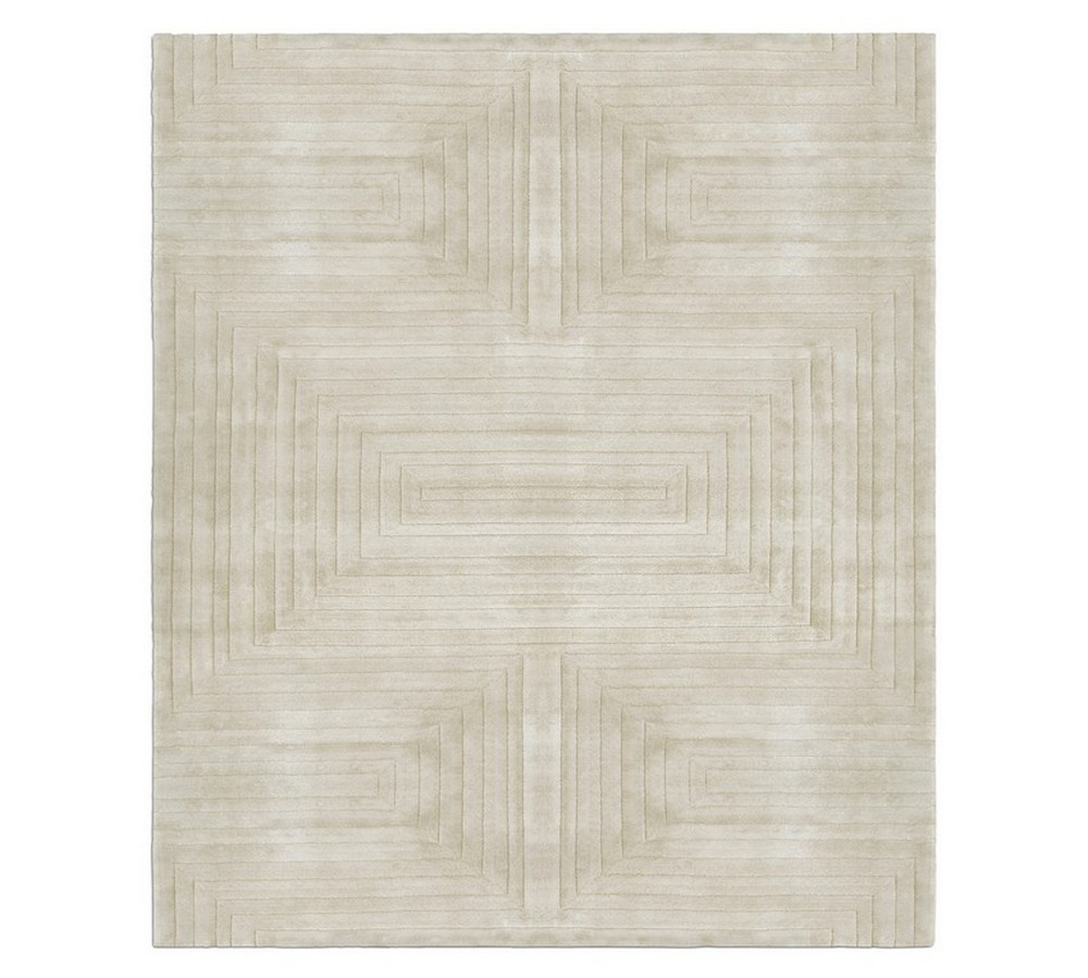 timothy godbold Relaxed, Sophisticated, Chic: Dining Rooms by Timothy Godbold white garden rug zoom
