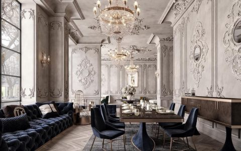 Classic, Daring and Timeless: A Dining Room Design by M. Serhat Sezgin dining room design Classic, Daring and Timeless: A Dining Room Design by M. Serhat Sezgin featured 2020 05 06T114327