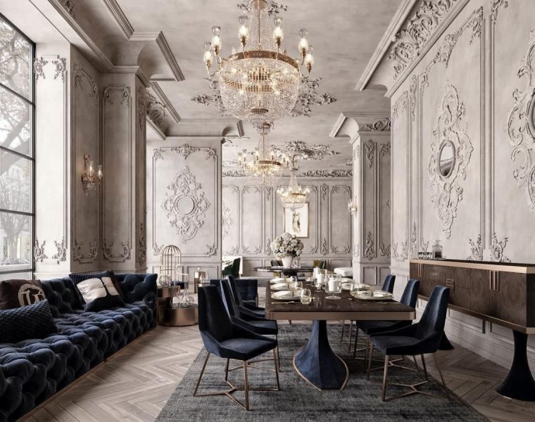 Classic, Daring and Timeless: A Dining Room Design by M. Serhat Sezgin dining room design Classic, Daring and Timeless: A Dining Room Design by M. Serhat Sezgin featured 2020 05 06T114327 dining tables About featured 2020 05 06T114327