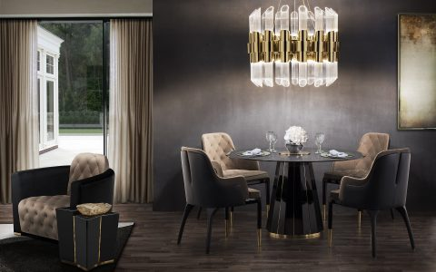 Take a Walk on The Dark Side: The Glamour of Black Luxury Dining Rooms luxury dining rooms Take a Walk on The Dark Side: The Glamour of Black Luxury Dining Rooms featured 480x300