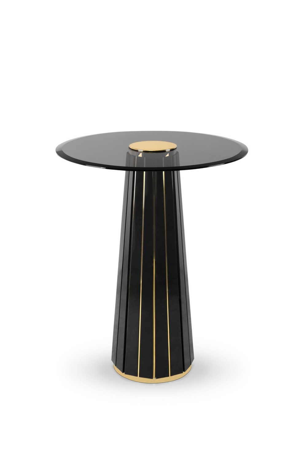 Take a Walk on The Dark Side: The Glamour of Black Luxury Dining Rooms luxury dining rooms Take a Walk on The Dark Side: The Glamour of Black Luxury Dining Rooms kassavello darian bar table 01