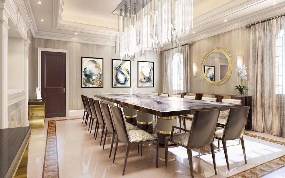 Ovadia Design Group: Inventive Ideas For Timeless Dining Rooms ovadia design group Ovadia Design Group: Inventive Ideas For Timeless Dining Rooms 2 ovadia