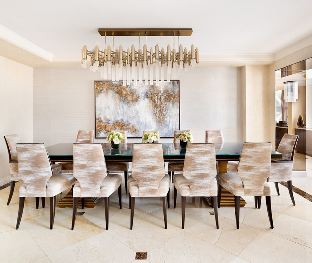 Ovadia Design Group: Inventive Ideas For Timeless Dining Rooms ovadia design group Ovadia Design Group: Inventive Ideas For Timeless Dining Rooms 3 modern chandeliers