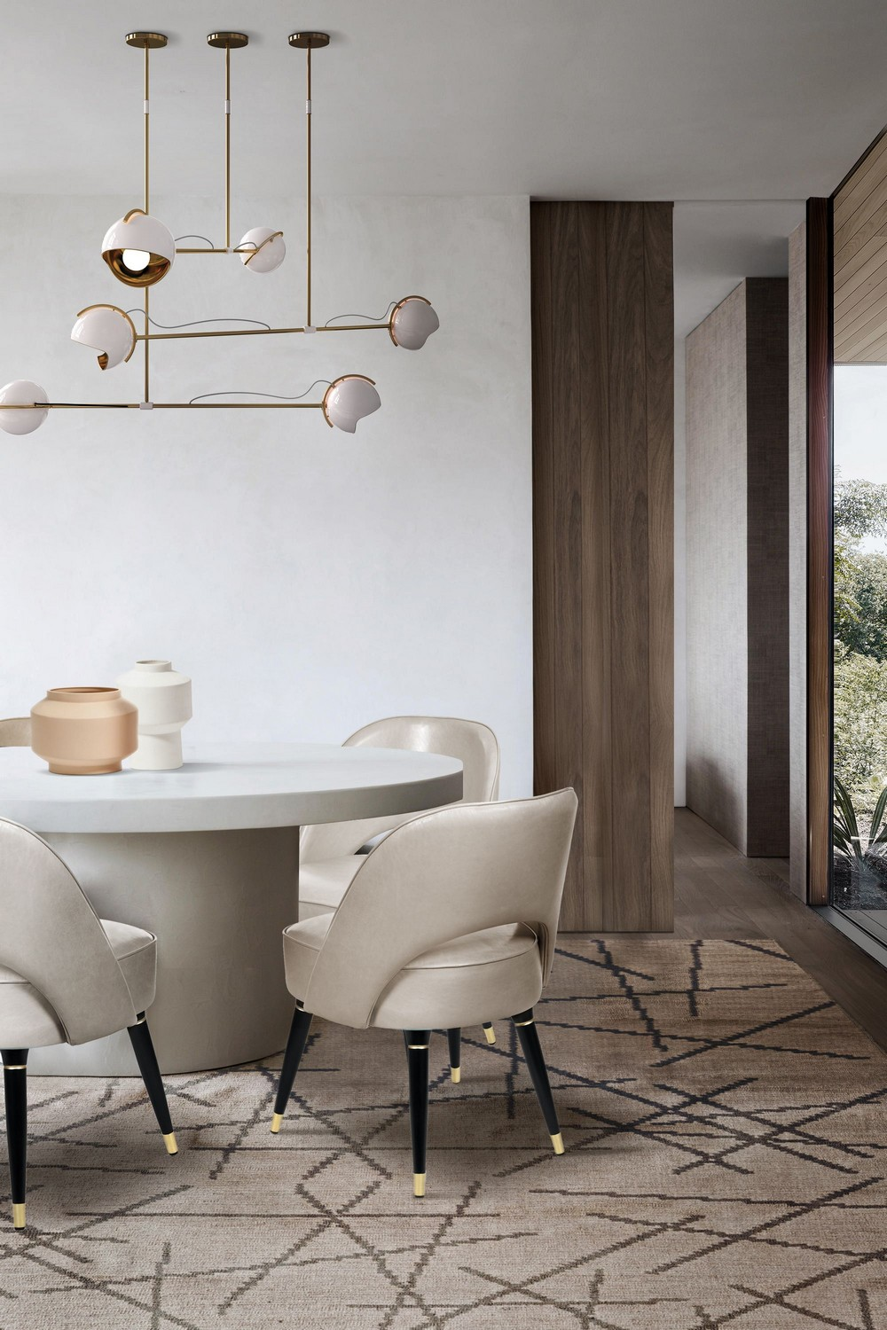 Design That's Barely There: Dining Room Ideas With Nude Tones dining room ideas Design That's Barely There: Dining Room Ideas With Nude Tones d1dQBa5A