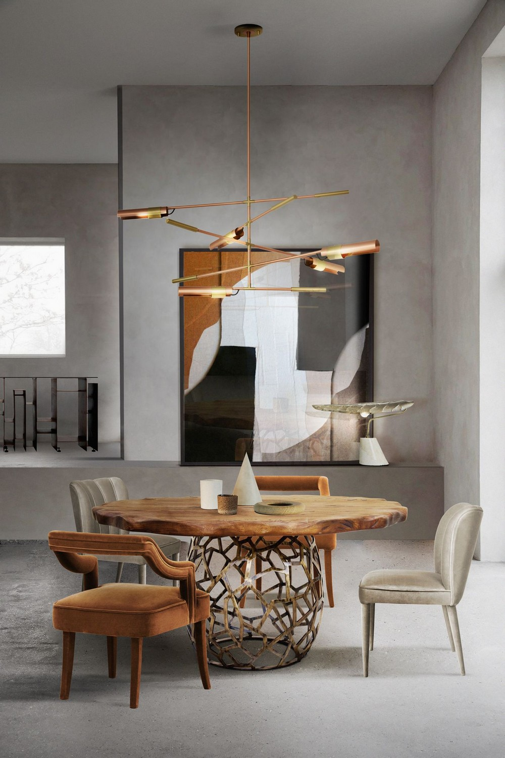 dining room ideas Design That's Barely There: Dining Room Ideas With Nude Tones ruwMIDbU