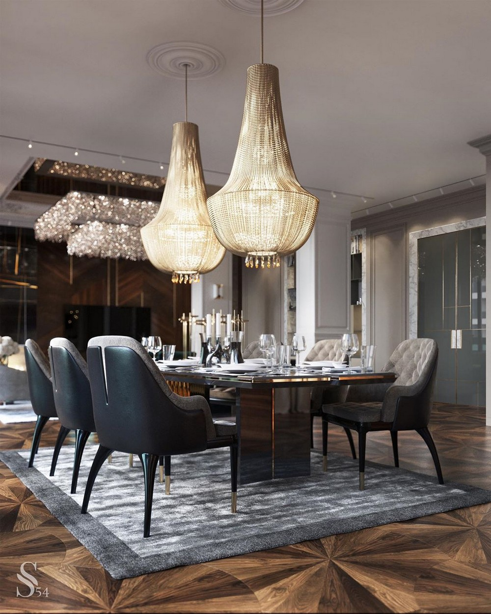 The Best Dining Room Designs You Will Find On Instagram dining room designs The Best Dining Room Designs You Will Find On Instagram 1 1