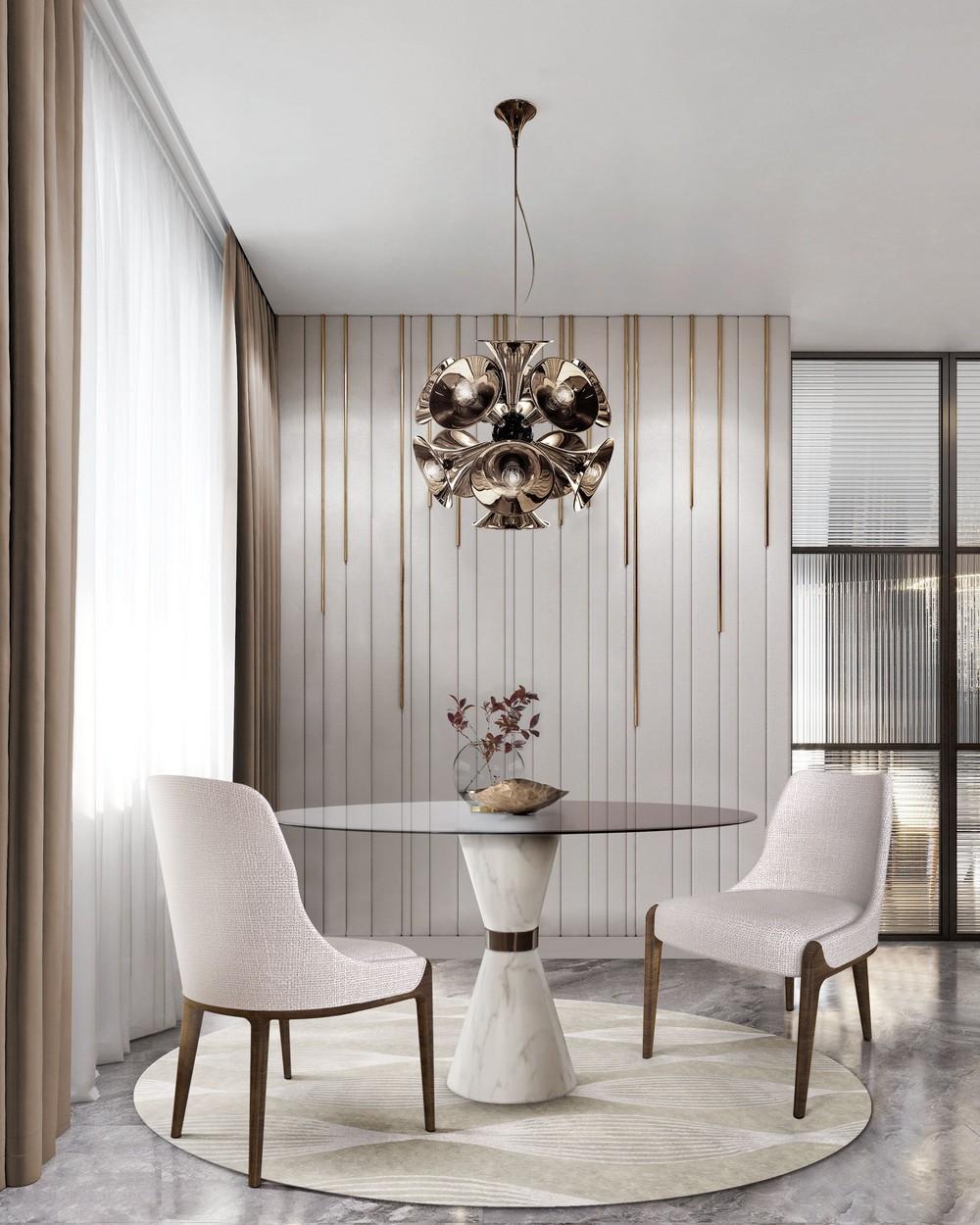 Luxury Lighting: Dining Room Ideas From Mid-century To Contemporary dining room Luxury Lighting: Dining Room Ideas From Mid-century To Contemporary Ij3 cbag