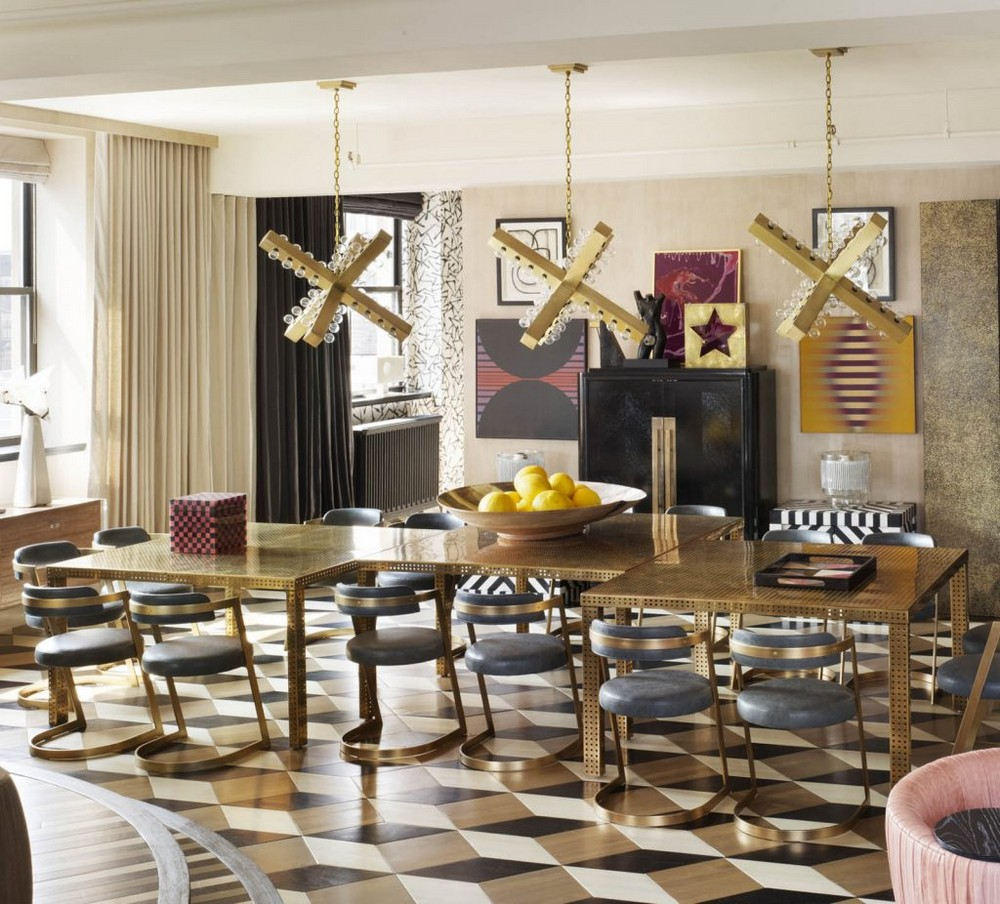Kelly Wearstler's Most Ambitious Dining Room Projects kelly wearstler Kelly Wearstler's Most Ambitious Dining Room Projects Top 10 Interior Design Projects by Kelly Wearstler 6 1 1024x926 1