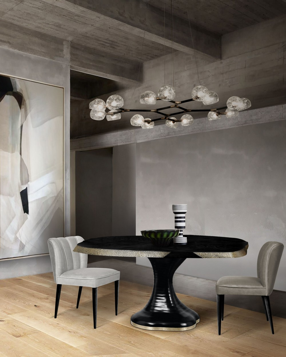 Luxury Lighting: Dining Room Ideas From Mid-century To Contemporary dining room Luxury Lighting: Dining Room Ideas From Mid-century To Contemporary Ts6Etzsw