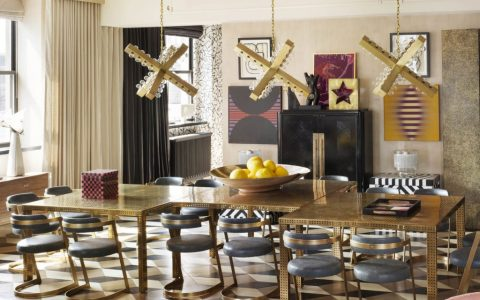 Kelly Wearstler's Most Ambitious Dining Room Projects kelly wearstler Kelly Wearstler's Most Ambitious Dining Room Projects featured 480x300