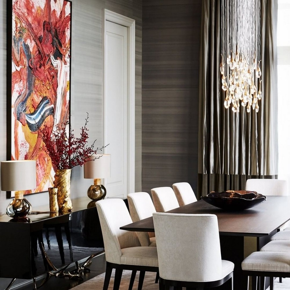 dining room designs The Best Dining Room Designs You Will Find On Instagram julie charbonneau