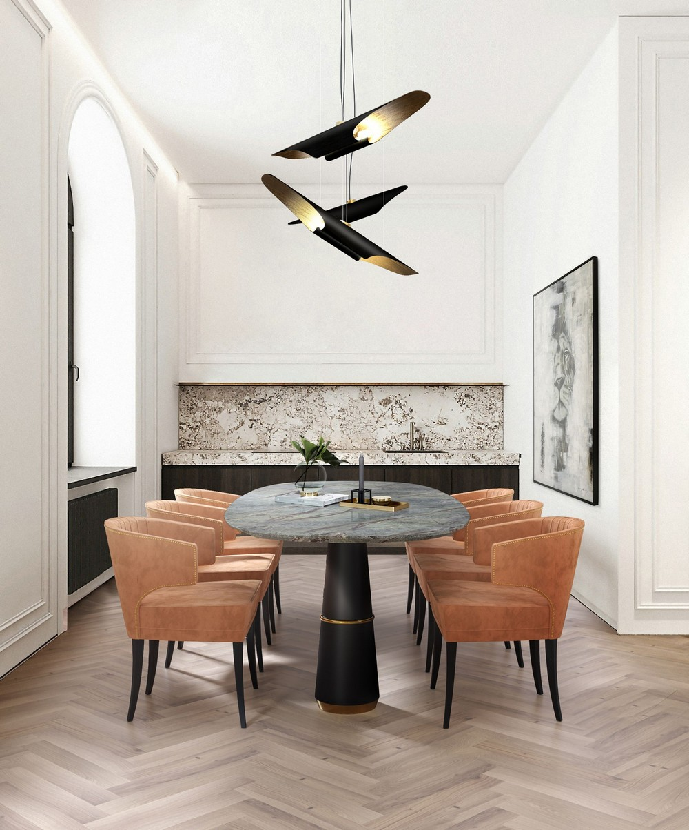 Luxury Lighting: Dining Room Ideas From Mid-century To Contemporary dining room Luxury Lighting: Dining Room Ideas From Mid-century To Contemporary qSaUcDqQ