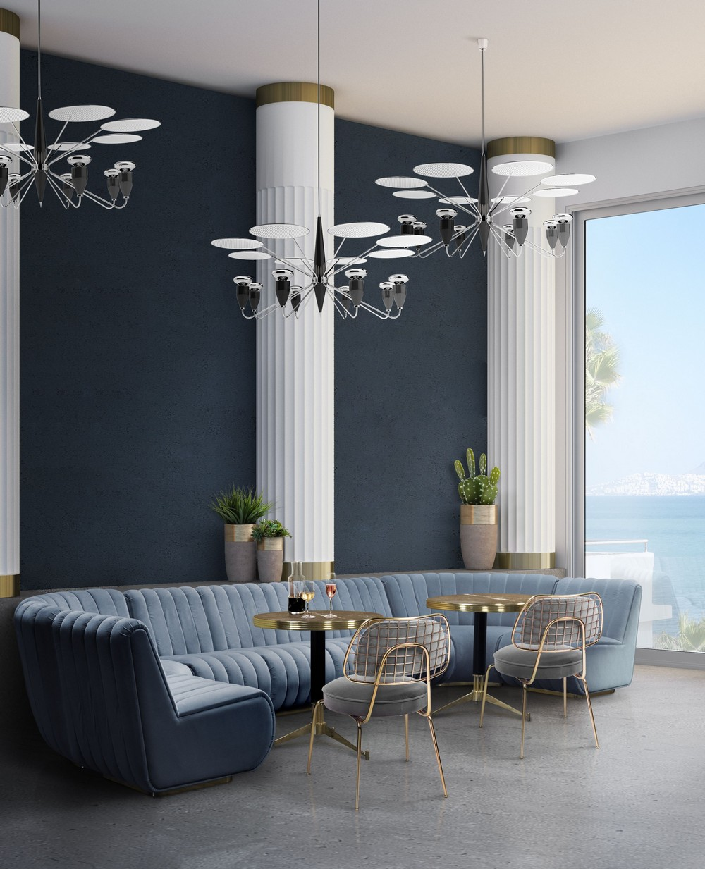 The Top 6 Trending Dining Room Styles dining room ideas The Top 6 Trending Dining Room Ideas architetcural standout