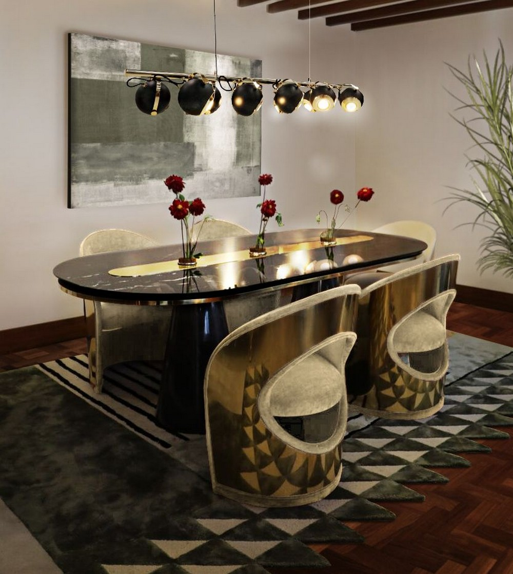 The Top 6 Trending Dining Room Ideas dining room ideas The Top 6 Trending Dining Room Ideas pattern power