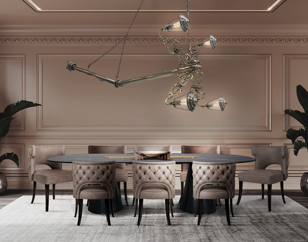 The Top 6 Trending Dining Room Styles dining room ideas The Top 6 Trending Dining Room Ideas traditional with a twiast