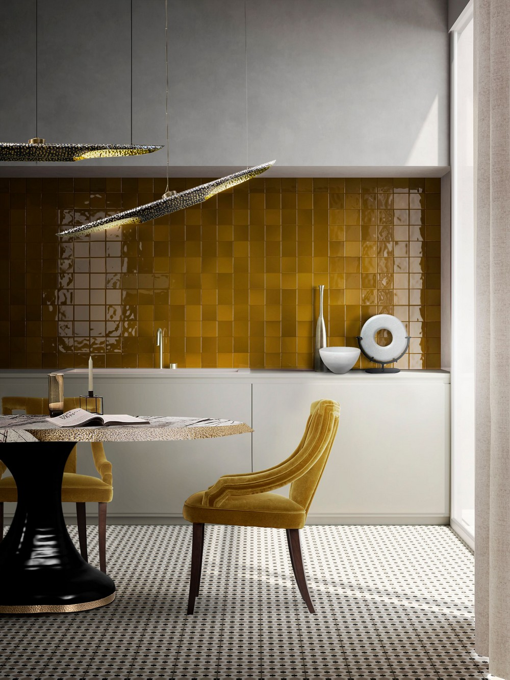 contemporary dining rooms Voguish and Unexpected: Contemporary Dining Rooms You Will Love uhdodlqw