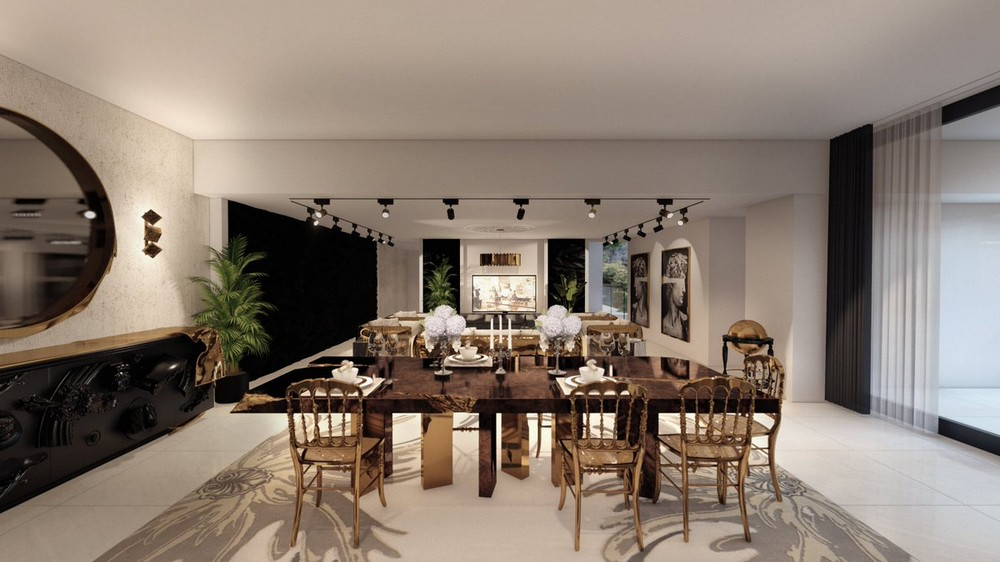 This Is What A $15 Million Mansion's Luxury Dining Room Looks Like luxury dining room This Is What A $15 Million Mansion's Luxury Dining Room Looks Like Eg0rC9lWoAUtQUW