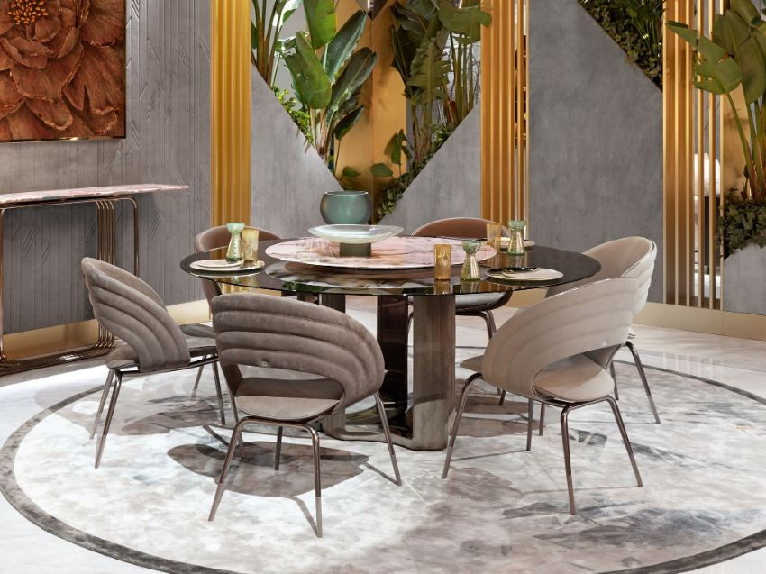 Top Luxury Furniture Brands For An Imposing Dining Room dining room Top Luxury Furniture Brands For An Imposing Dining Room Visionnaire Salone del Mobile 019 1385 0 1