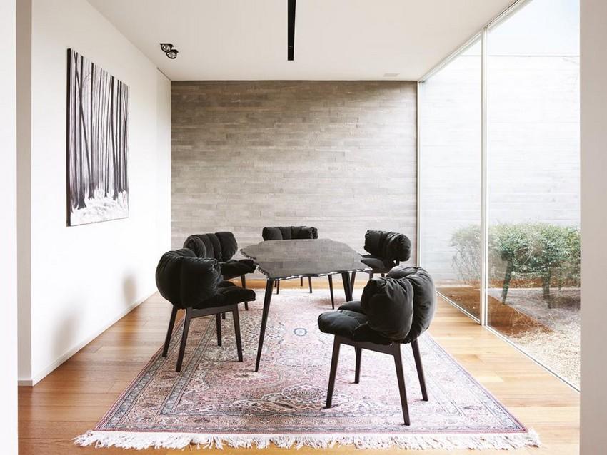 dining room Top Luxury Furniture Brands For An Imposing Dining Room edra blu velvet 03 master