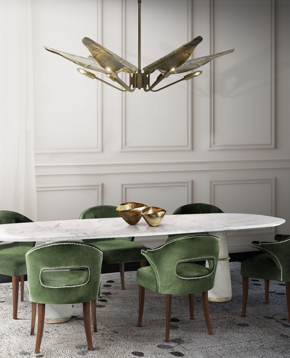 Dining Room Styling: The Best Winter Design Trends For 2020 dining room styling Dining Room Styling: The Best Winter Design Trends For 2020 structured simplicty winter design trends Dining Room Styling: The Best Winter Design Trends structured simplicty