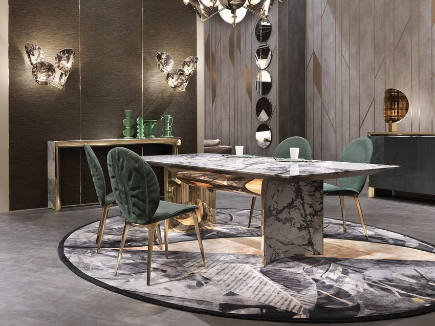 dining room Top Luxury Furniture Brands For An Imposing Dining Room visionnaire stand 2018 12611