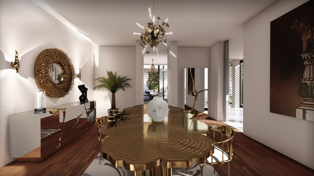 7 Luxury Mirrors That Will Bring Life To Your Contemporary Dining Room luxury mirrors 7 Luxury Mirrors That Will Bring Life To Your Contemporary Dining Room 4 1