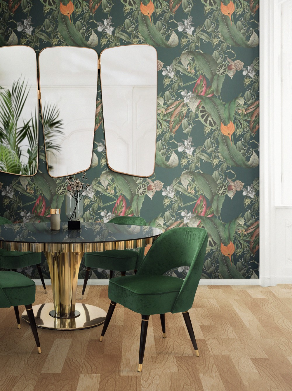 7 Luxury Mirrors That Will Bring Life To Your Contemporary Dining Room luxury mirrors 7 Luxury Mirrors That Will Bring Life To Your Contemporary Dining Room ambience 153 HR org