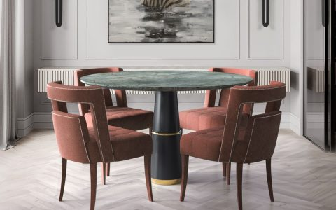 luxury furniture A Selection of Colorful Luxury Furniture For Your Dining Room fetred 480x300