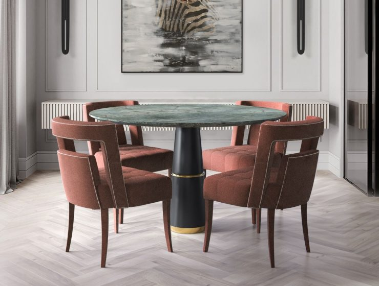 luxury furniture A Selection of Colorful Luxury Furniture For Your Dining Room fetred 740x560