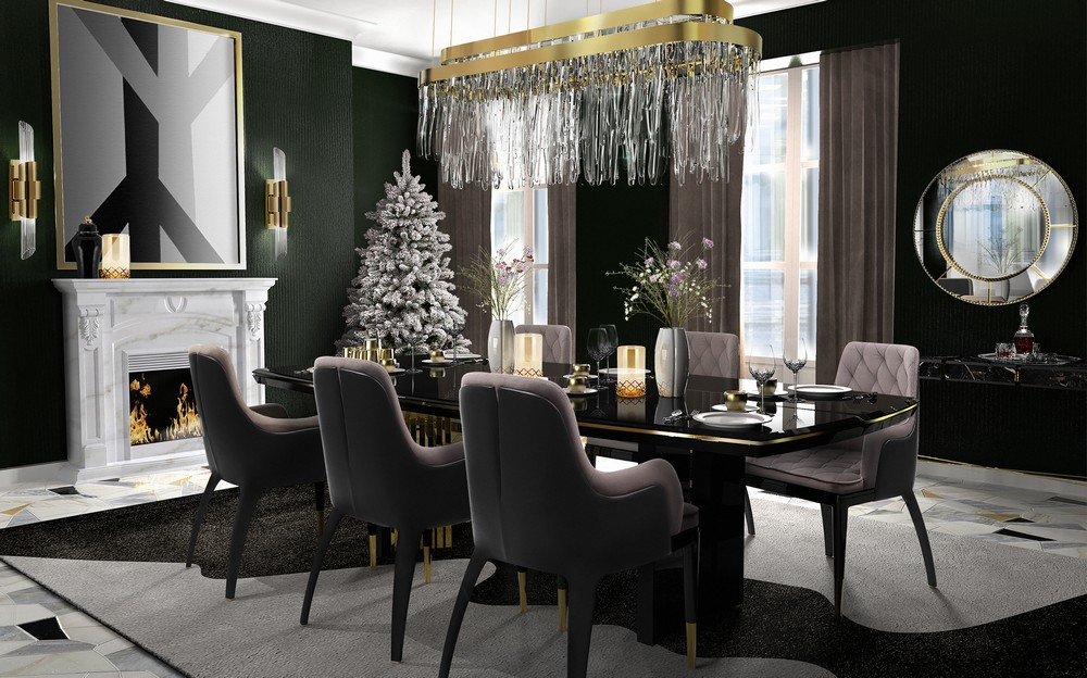 dining room ideas Christmas Is Here: Dining Room Ideas For An Unforgettable Celebration Image 1