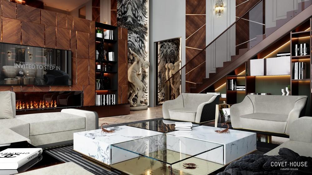 An 8.5 Million Modern Classic Villa by Covet House covet house An 8.5 Million Modern Classic Villa by Covet House 6