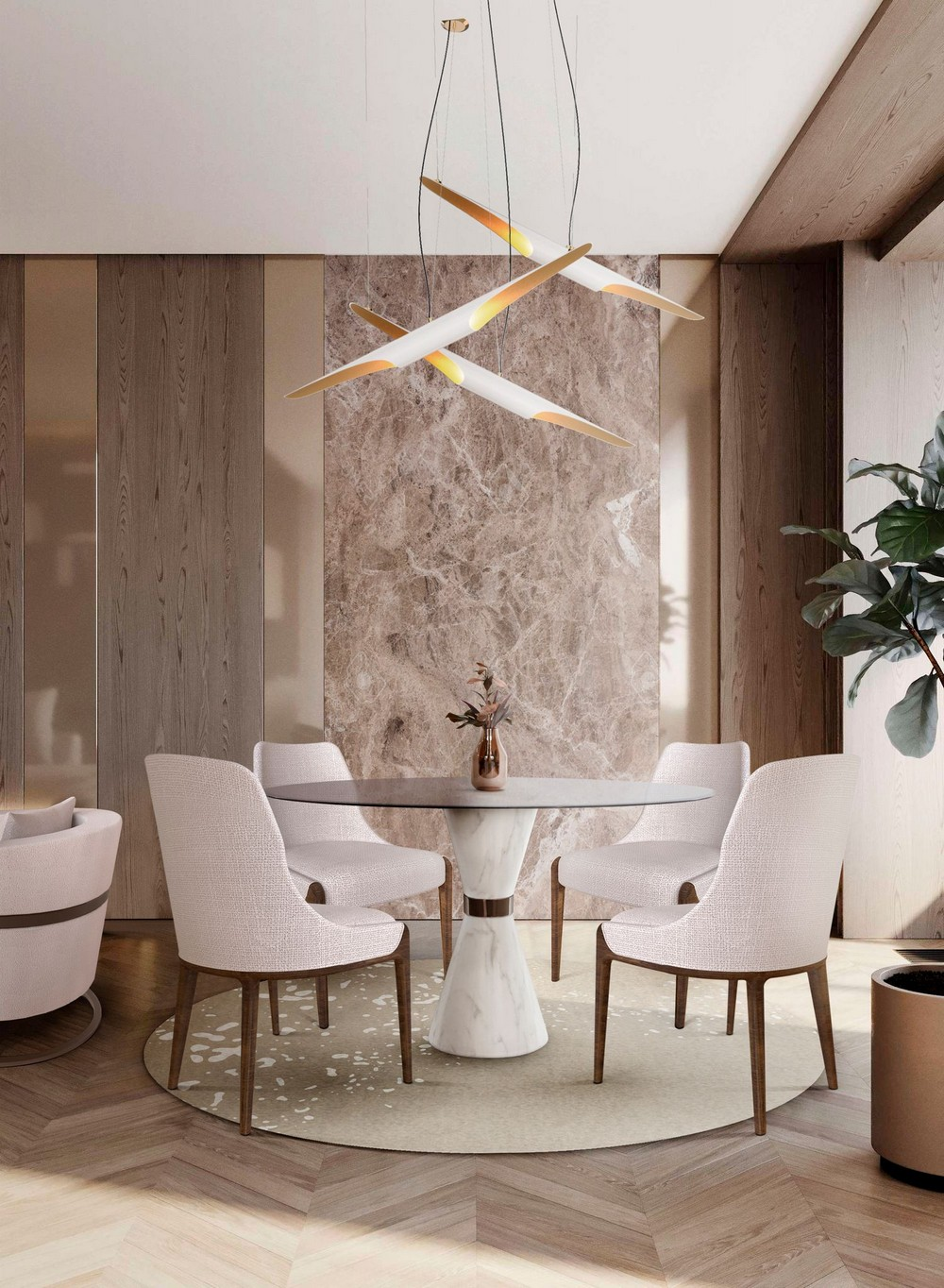 Luxury Dining Chairs To Transform Your Next Dining Room Project dining chairs Luxury Dining Chairs To Transform Your Next Dining Room Project BvpSLYjg