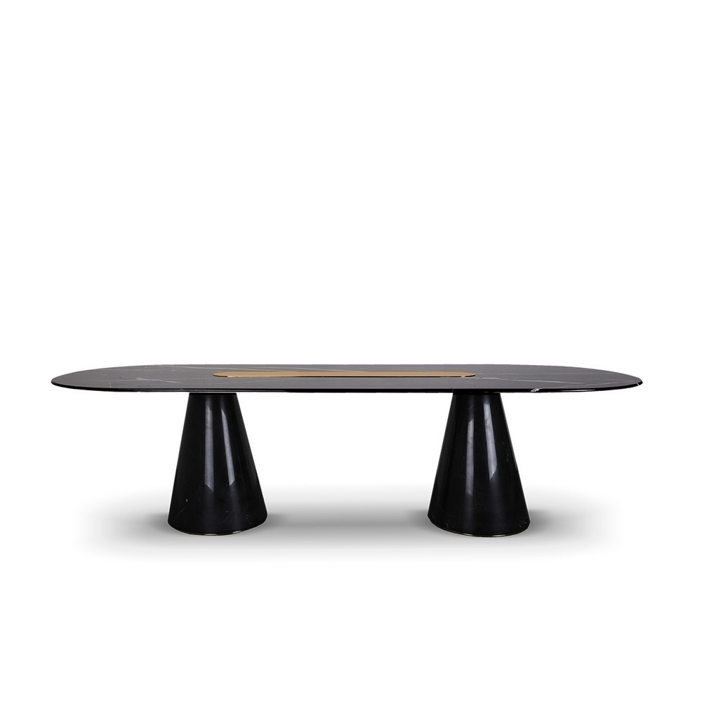 The Perfect Element For Stylish Settings: 10 Dining Tables You'll Love dining tables The Perfect Element For Stylish Settings: 25 Dining Tables You'll Love EH bertoia oval table 01