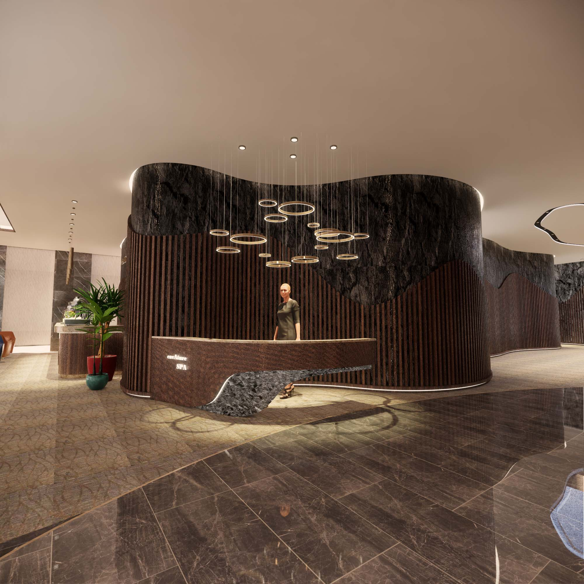 hong kong Top Interior Designers From Hong Kong SPA Reception 1 design Design Hubs Of The World – Top Interior Designers From Hong Kong SPA Reception 1