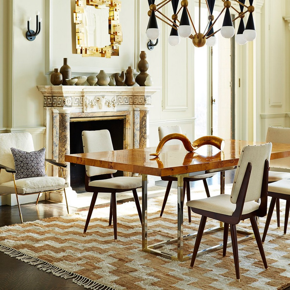 Luxury Dining Chairs To Transform Your Next Dining Room Project dining chairs Luxury Dining Chairs To Transform Your Next Dining Room Project camille adler