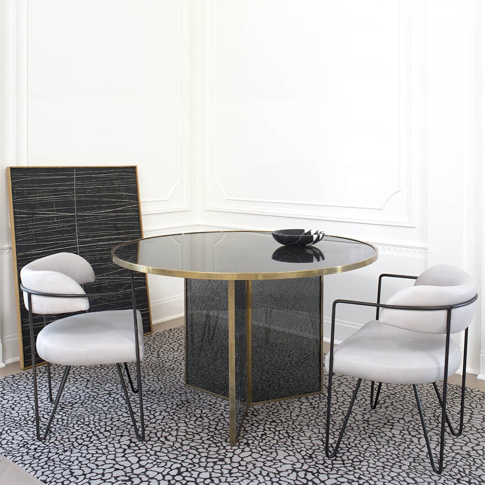 The Perfect Element For Stylish Settings: 25 Dining Tables You'll Love dining tables The Perfect Element For Stylish Settings: 25 Dining Tables You'll Love fractured modern dining tables 25 Modern Dining Tables With A Luxury Design fractured